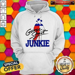 Official George Strait Junkie Hoodie