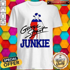 Official George Strait Junkie Shirt