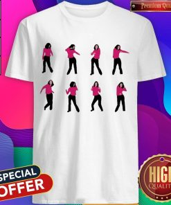 Official Girl Fat Monica's Dance Shirt