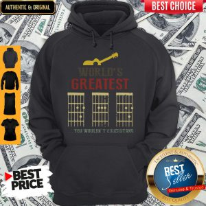 Official Guitar World Greatest Dad Ever Father's Day Hoodie
