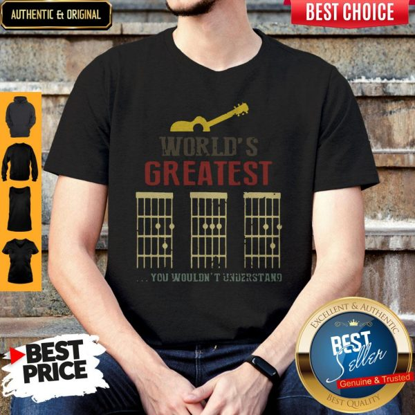 Official Guitar World Greatest Dad Ever Father's Day Shirt