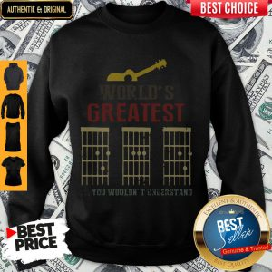 Official Guitar World Greatest Dad Ever Father's Day Sweatshirt