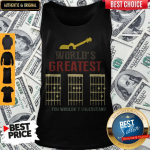 Official Guitar World Greatest Dad Ever Father's Day Tank Top