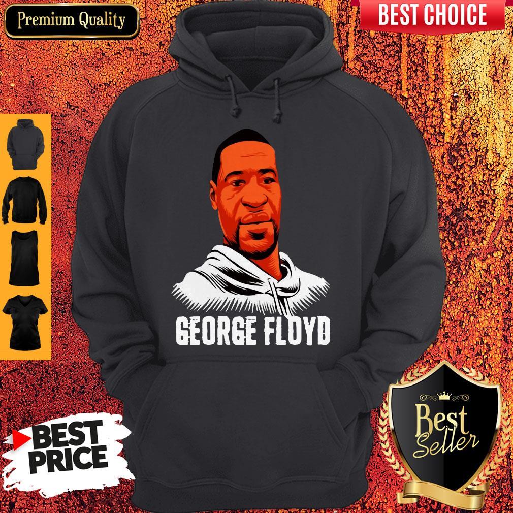 Official I Can't Breathe George Floyd Vintage Hoodie
