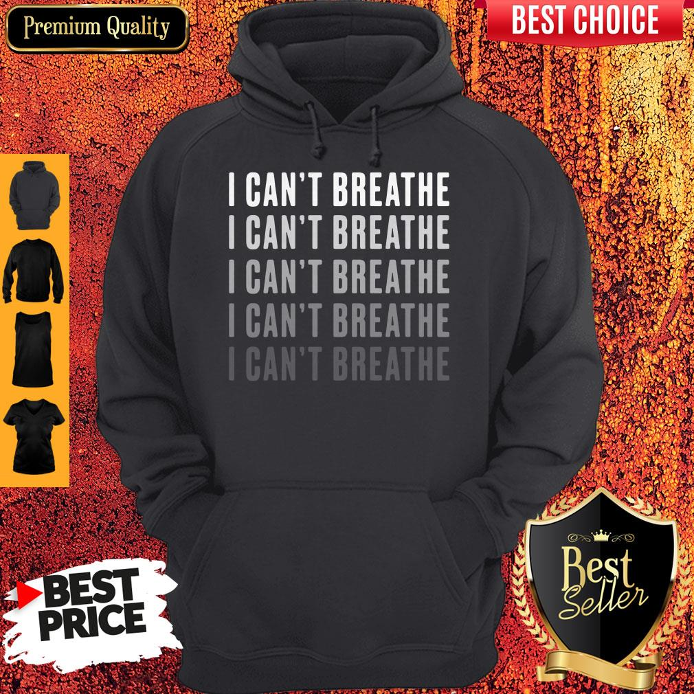 Official I Can't Breathe Vintage Hoodie