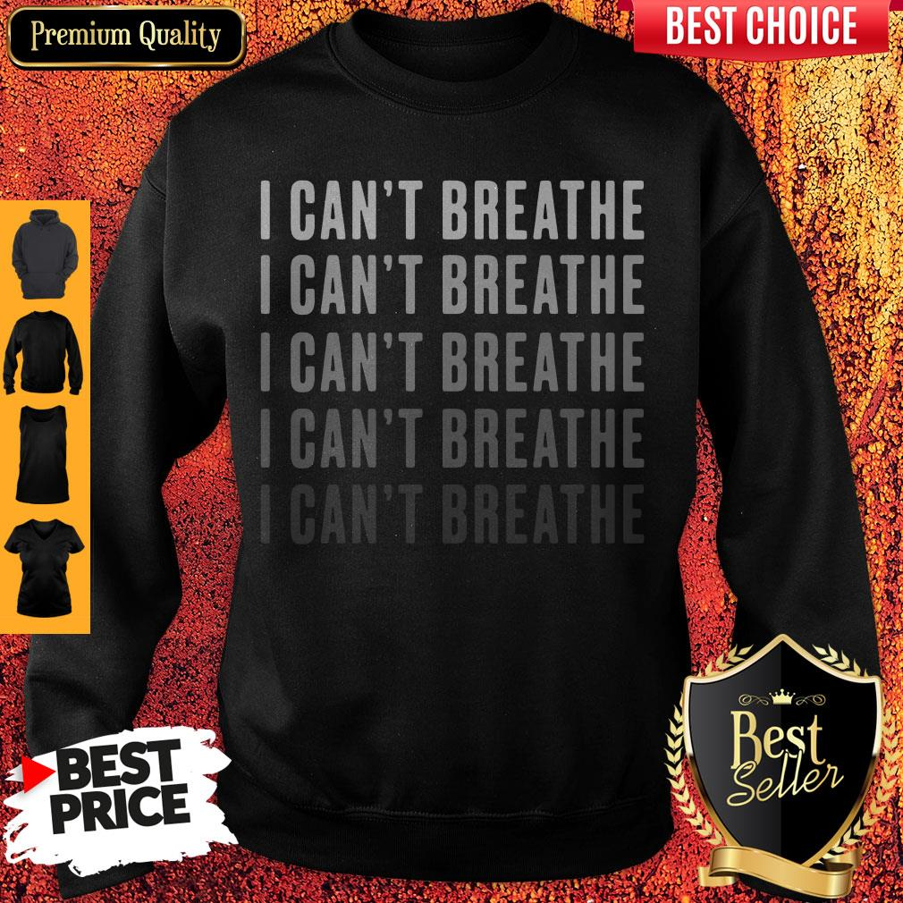 Official I Can't Breathe Vintage Sweatshirt