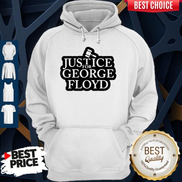Official Law Justice For George Floyd Hoodie
