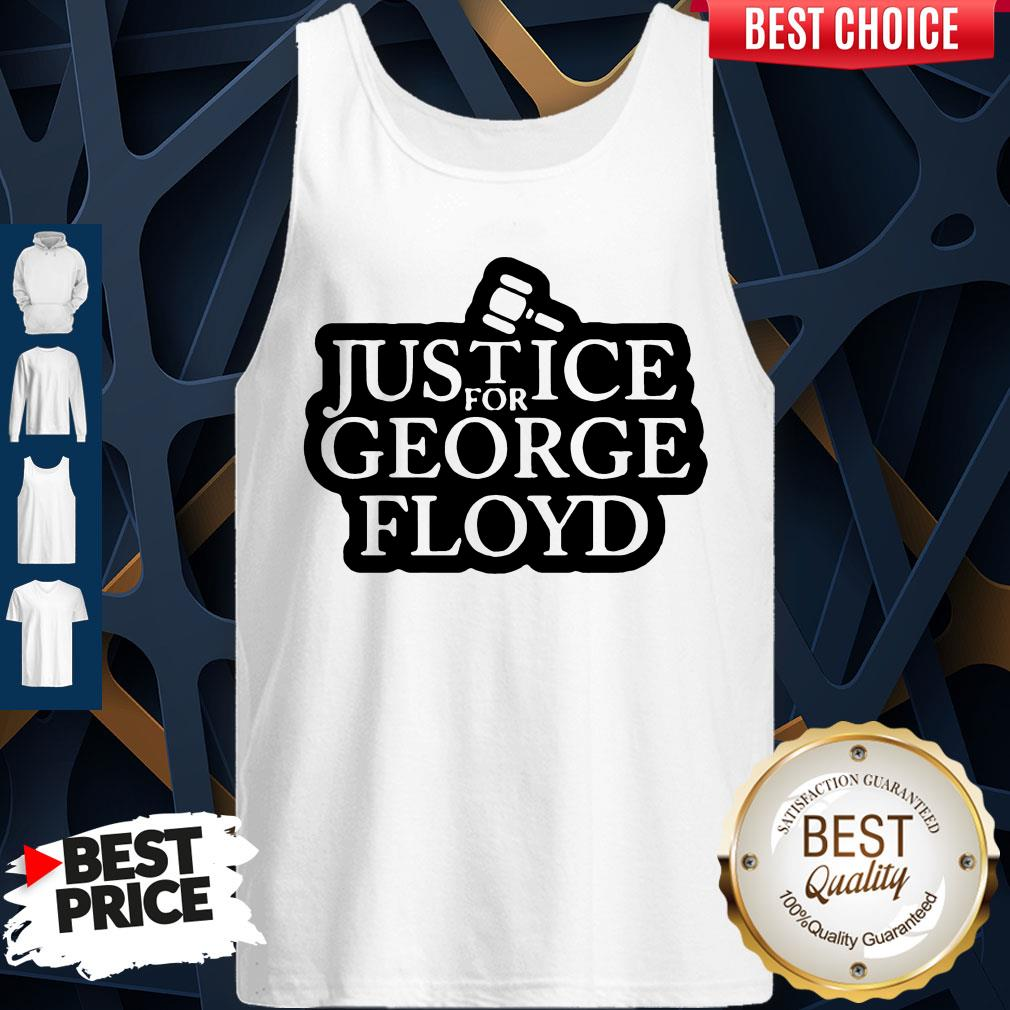 Official Law Justice For George Floyd Tank Top