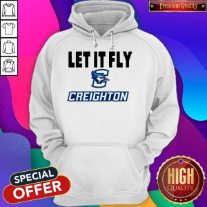 Official Let It Fly Creighton University Hoodie