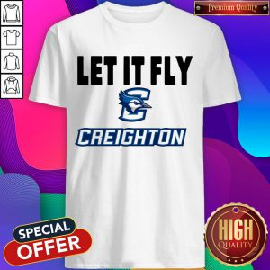 Official Let It Fly Creighton University Shirt