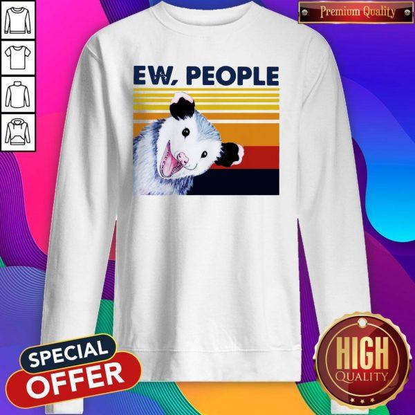 Official Opossum Ew People Vintage Sweatshirt