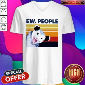 Official Opossum Ew People Vintage V-neck