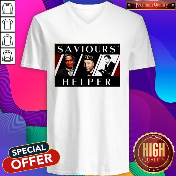 Official Saviours' Helper V-neck