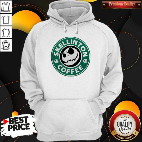Official Skellington Coffee Hoodie