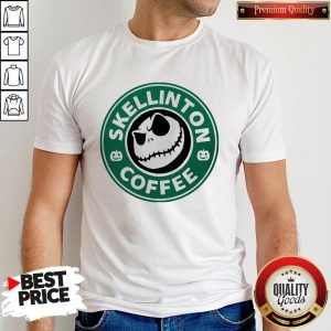 Official Skellington Coffee Shirt