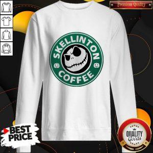 Official Skellington Coffee Sweatshirt