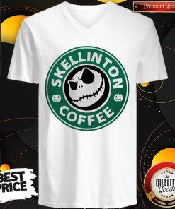 Official Skellington Coffee V-neck