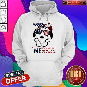 Official Snoopy 'Merica Hoodie