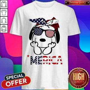 Official Snoopy 'Merica Shirt
