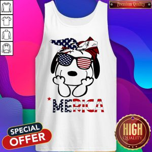 Official Snoopy 'Merica Tank Top