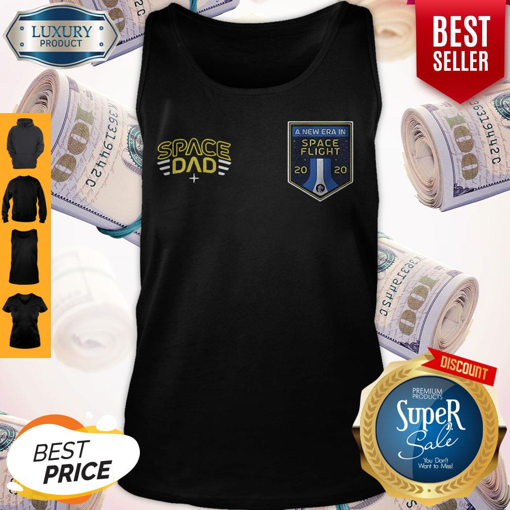 Official Space Dad A New Era In Flight Tank Top