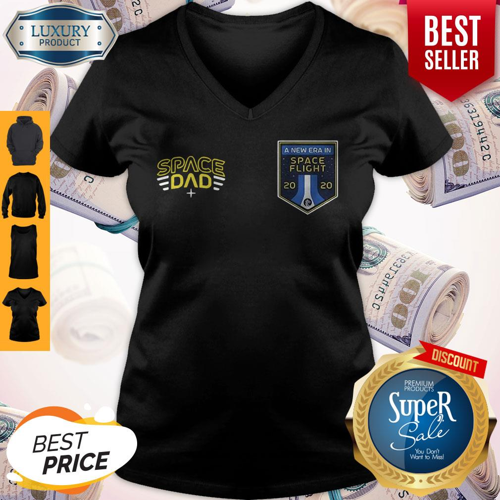 Official Space Dad A New Era In Flight V-neck