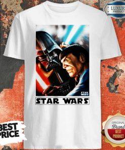 Official Star Wars Meets Star Trek Shirt