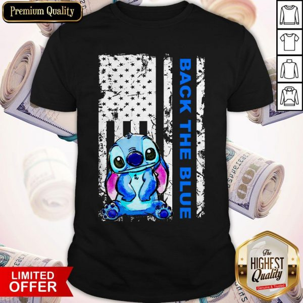 Official Stitch Back The Blue Shirt