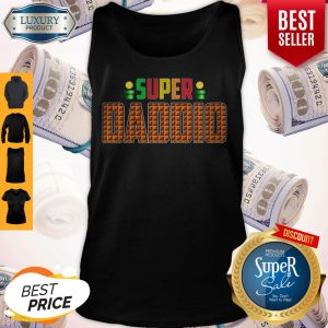 Official Super Daddio Super Mario Tank Top