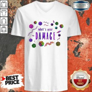 Official What's Your Damage V-neck