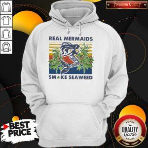 Real Mermaids Smoke Seaweed Vintage Hoodie