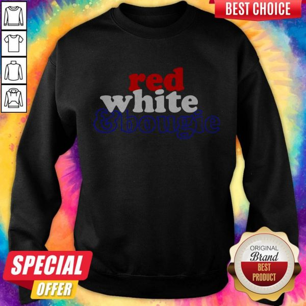 Red White Bougie Independence Day Sweatshirt