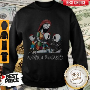 Sally Mother Of Nightmares With Two Girls And A Boy Sweatshirt
