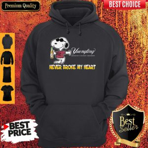 Snoopy Yuengling America's Oldest Brewery Beer Never Broke My Heart Hoodie