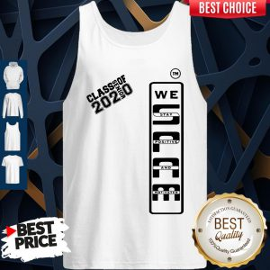 Spam 2020 Senior We Stay Positive And Motivated Tank Top
