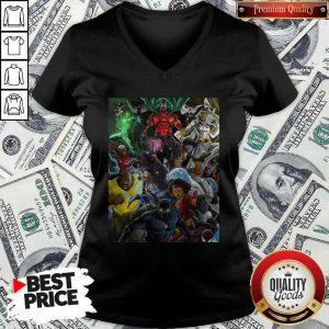 Superheroes Of Colour By Zack V-neck