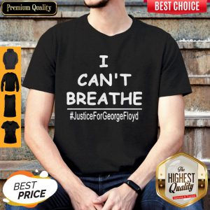 Top I Can't Breathe Justice For George Floyd Shirt