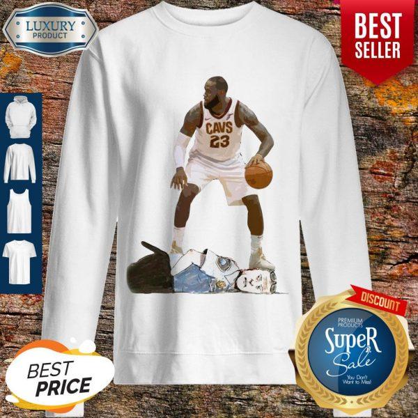 Top LeBron James I Can't Breathe Sweatshirt