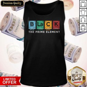 B La C K The Prime Element Tank Top