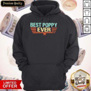 Best Poppy Ever 2020 Vintage Hoodie