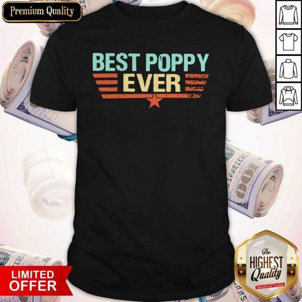 Best Poppy Ever 2020 Vintage Shirt