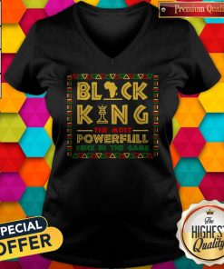 Black King The Most Powerful Piece In The Game V-neck