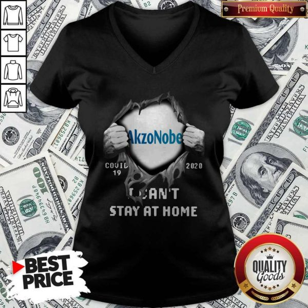 Blood Inside Me Akzonobel Covid 19 2020 I Can't Stay At Home V-neck