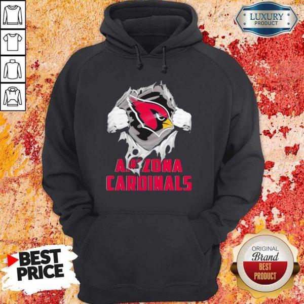 Blood Inside Me Arizona Cardinals Hoodie