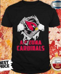 Blood Inside Me Arizona Cardinals Shirt