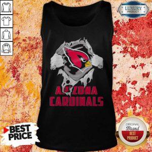 Blood Inside Me Arizona Cardinals Tank Top