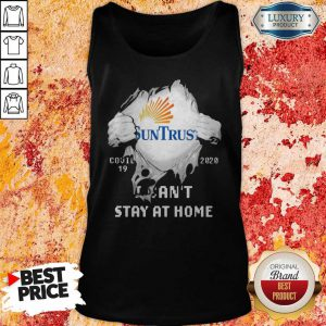 Blood Inside Me Suntrust Banks Covid 19 2020 I Can't Stay At Home Tank Top