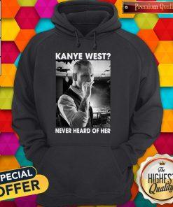 Corey Taylor Version Kanye West Never Heard Of Her V-neck