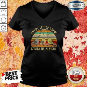 Every Little Thing Is Gonna Be Alright Vintage V-neck