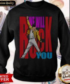 Freddie Mercury Air Jordan We Will Rock You Sweatshirt